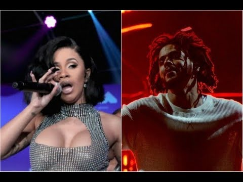 J Cole tells Cardi B that she already Won and not to stress about dropping her first ever album.