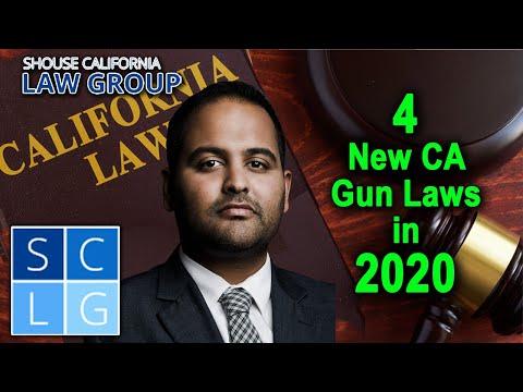 4 New California Gun Laws In 2020