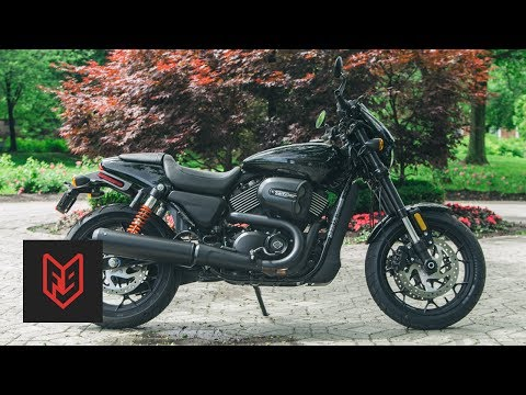 Harley Davidson Street Rod Review at fortnine.ca
