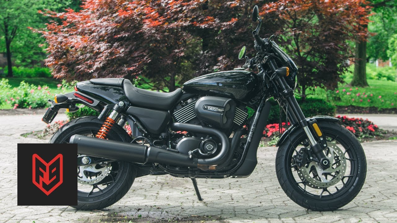 Harley Davidson Street Rod Review at fortnine.ca - YouTube
