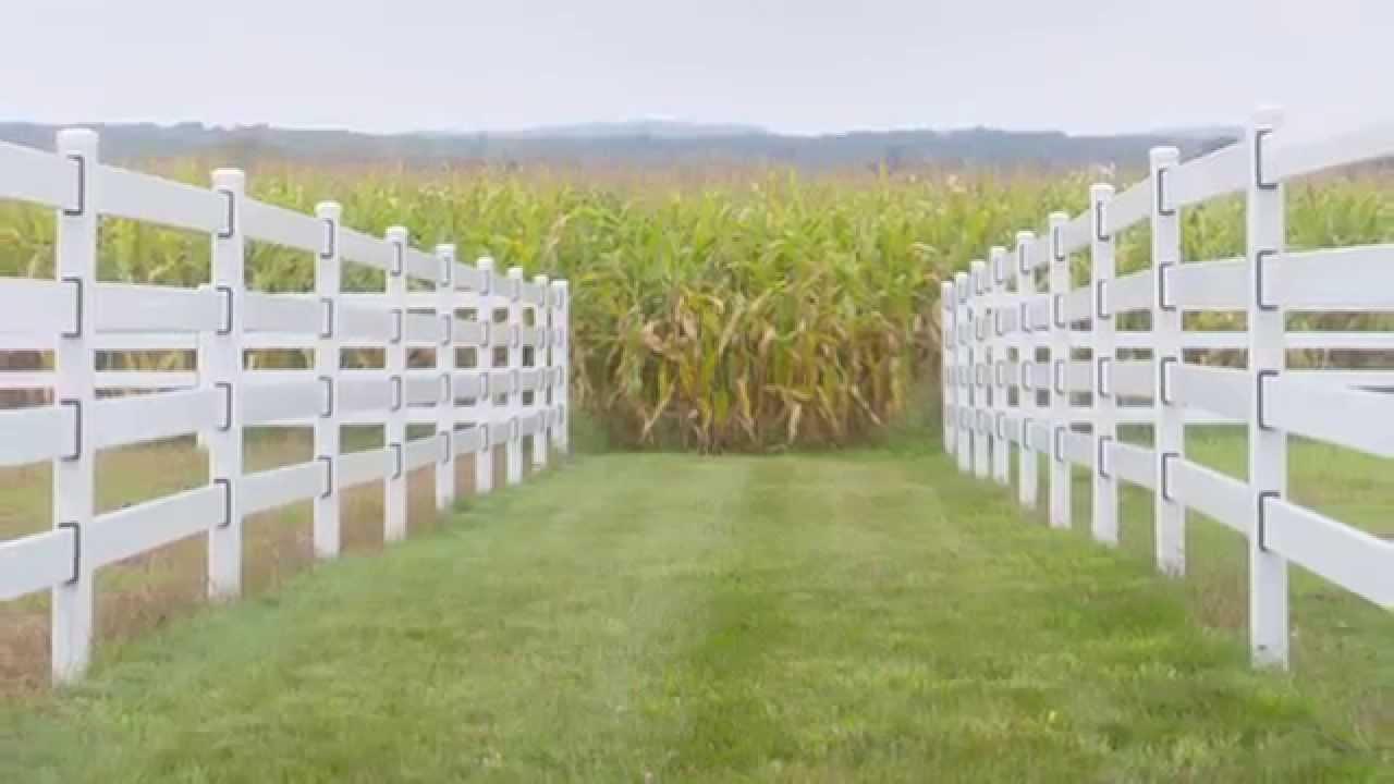 Steel Board Vs Vinyl Horse Fence Strength YouTube