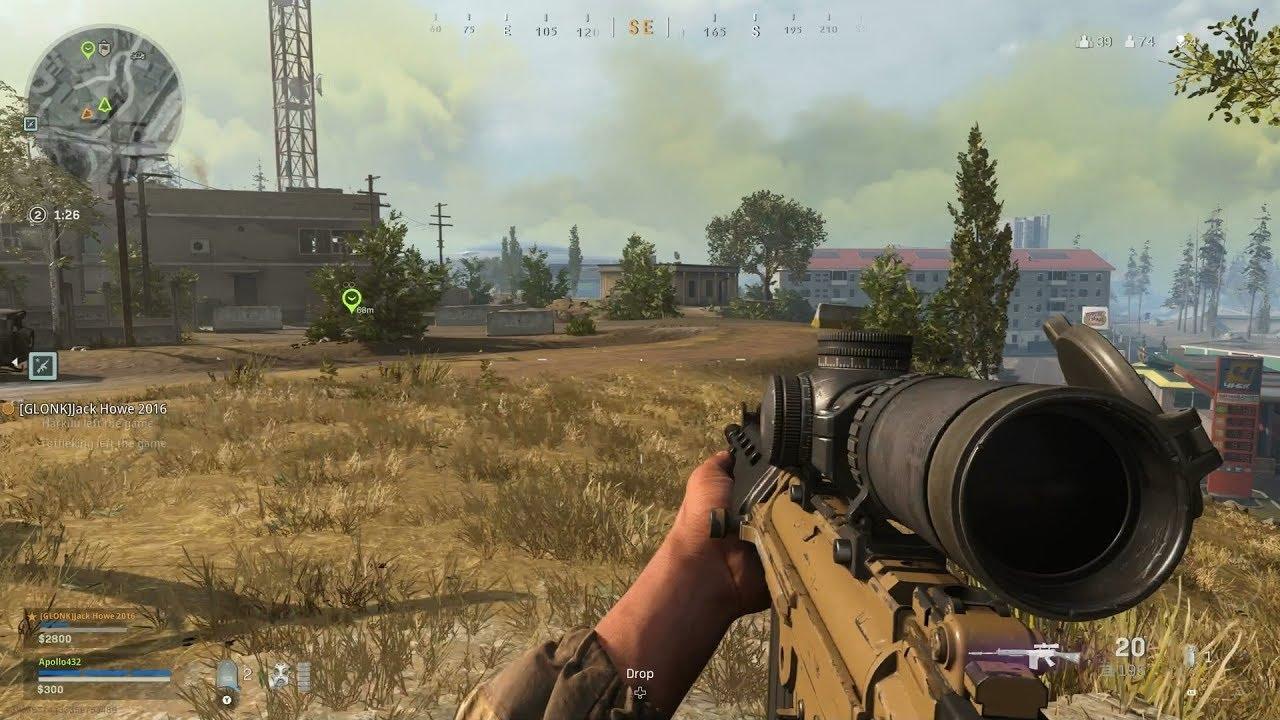 call of duty modern warfare warzone gameplay