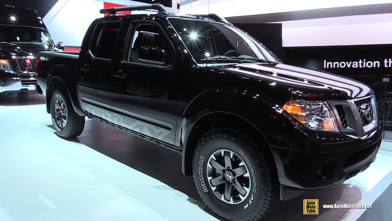 Frontier Pro 4x 2016 >> 2015 Nissan Frontier Pro-4X - Exterior and Interior Walkaround - 2015 Detroit Auto Show - YouTube