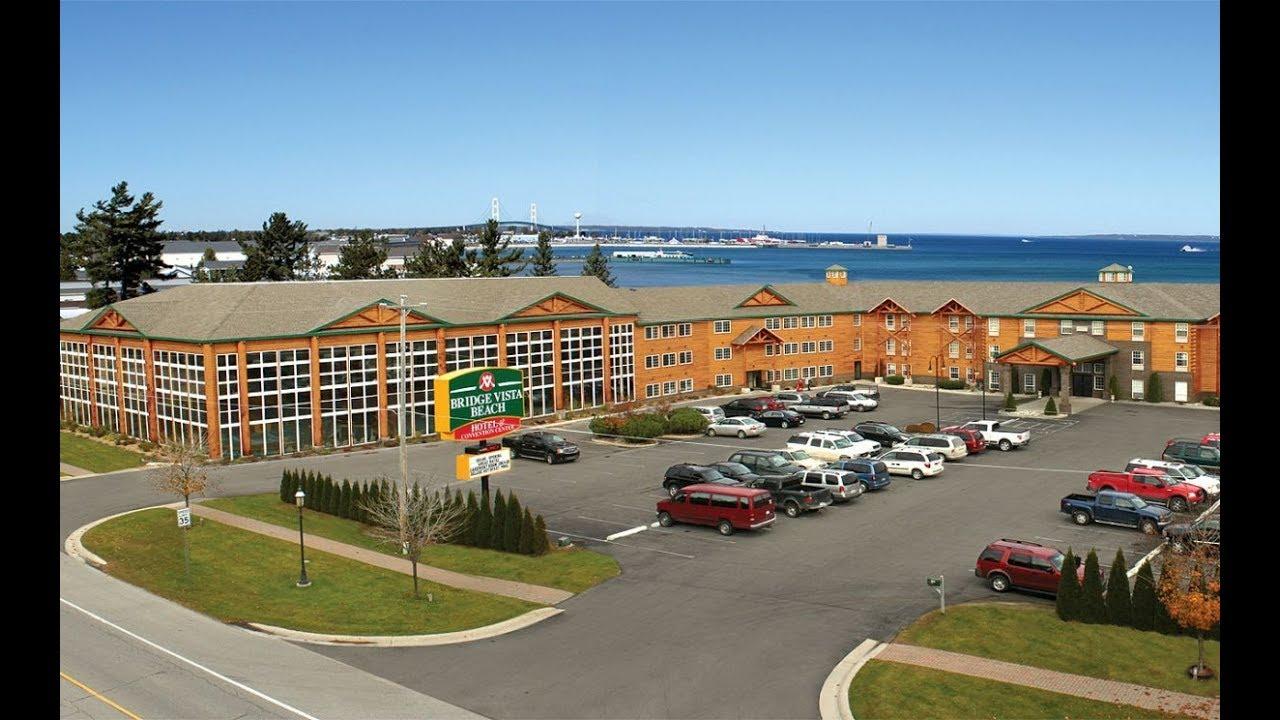 Bridge Vista Beach Hotel And Convention Center 3 Stars In Mackinaw City Michigan