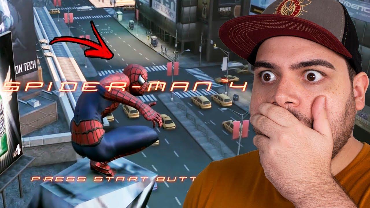 VAZOU GAMEPLAY DE SPIDER-MAN 4! JOGO DO FILME CANCELADO DO TOBEY MAGUIRE!