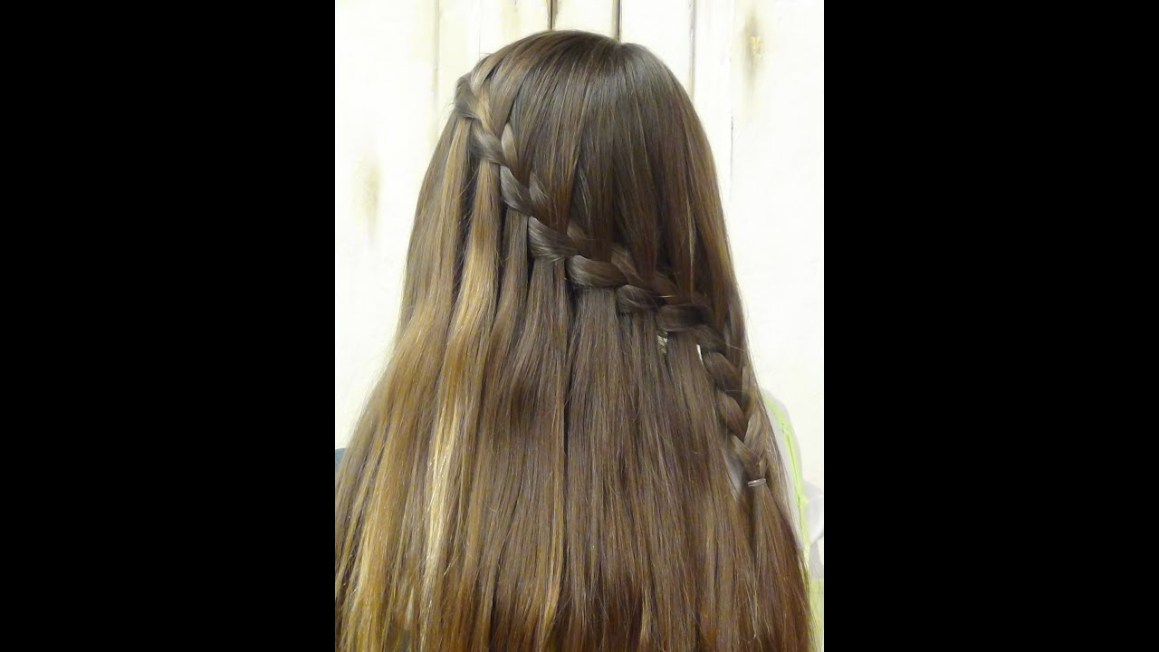 Waterfall Hairstyles Braided Hair For Long Hairstyles