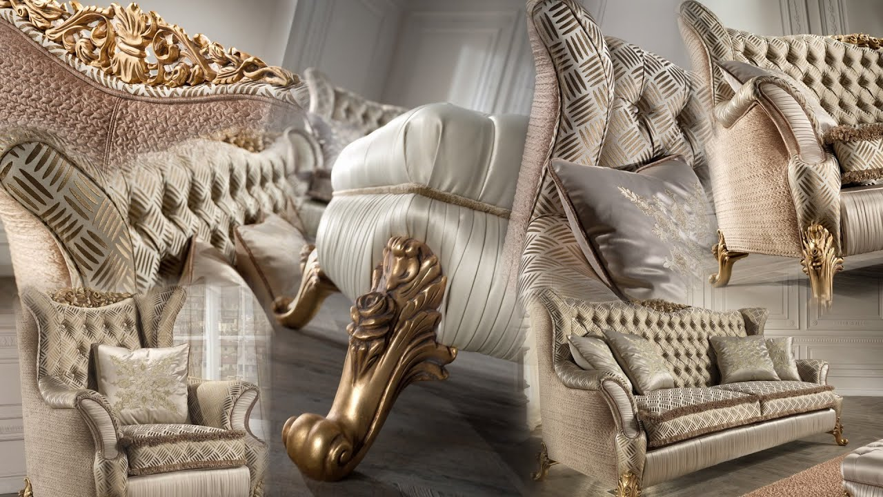 RAVASI Classic Furniture Luxury Sofas   YouTube