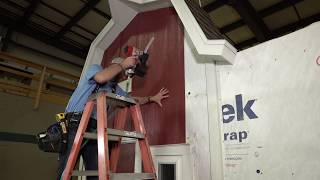 Diamond Kote Vertical Siding Installation | Built on LP SmartSide