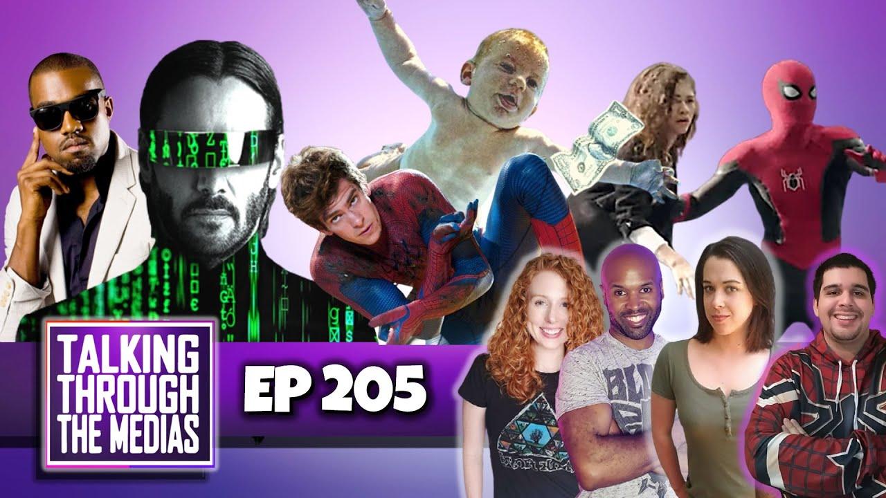 Episode 205 - Matrix 4 Resurrection | No Way Home | Cowboy Bebop
