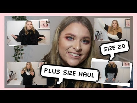 23a1e7023c88 PLUS SIZE FASHION - TRY ON HAUL PINK CLOVE | #AD by gh0stblondie