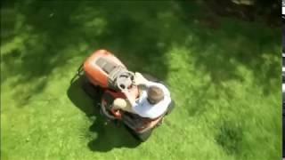 видео садовый трактор