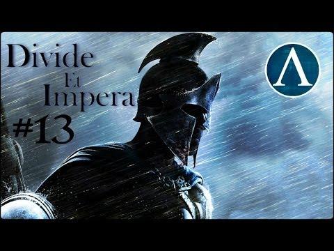 Rome 2 Total War: Divide Et Impera - SPARTA [Episode 13] |