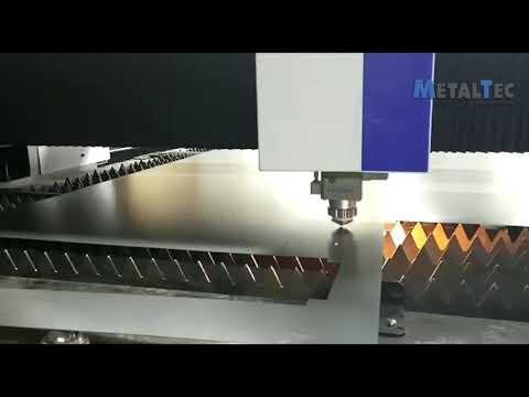 Оптоволоконный лазерный станок для резки металла MetalTec 1530 S (1500W)