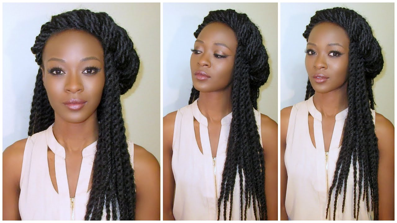 Crochet Senegalese Twists Maintenance
