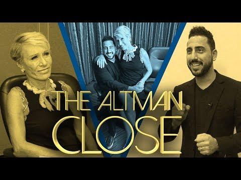 BARBARA CORCORAN OF SHARK TANK HEARS PITCHES FROM JOSH ALTMAN | THE ALTMAN CLOSE | EPISODE #27