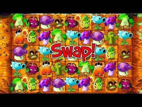 Plants vs Zombies 2 SWAP Plants Gameplay