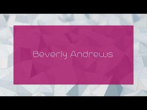 Beverly Andrews -