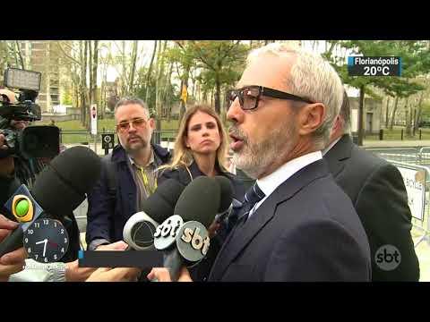 Ex-presidente da CBF vai a tribunal em Nova York | SBT Brasil (06/11/17)