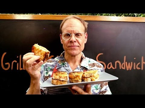 Let Alton Brown Show You An Epic New Way To Make A Grilled Cheese
