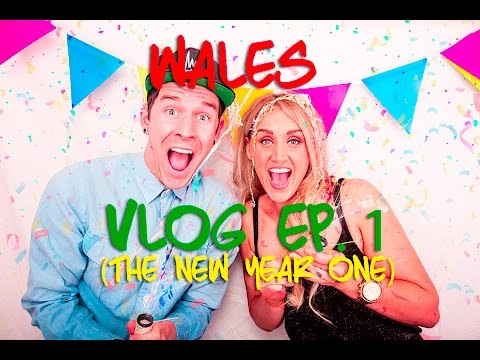 Kinging-It Wales Vlog Ep. 1: New Years Eve | Near Years Day Swim | Cardiff Ski Centre | Snowboarding