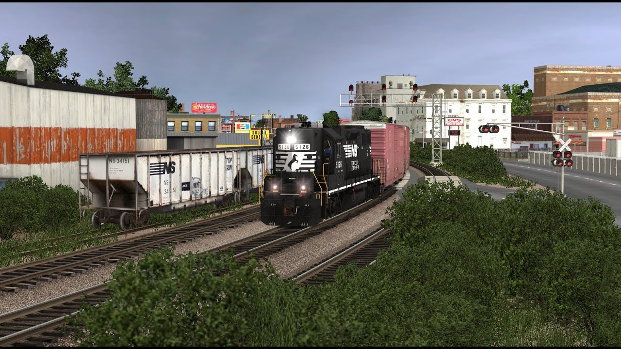 Trainz 12 NS Railfanning Compilation 2 by Kari Let's Them In