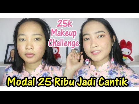 25k-makeup-challenge---diwajah-berjerawat---makeup-pakai-produk-murah---vina-maysha