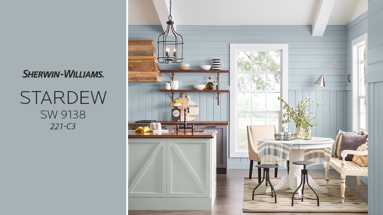 Sherwin williams paint colors sherwin williams 6249 storm cloud - August 2017 Color Of The Month Stardew Sherwin Williams