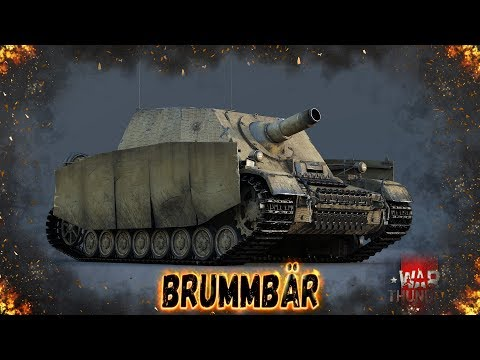 Brummbar - Стрельба