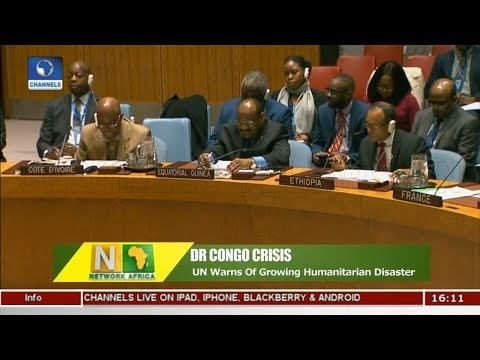 UN Warns DR Congo Of Growing Humanitarian Disaster |Network Africa|