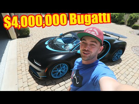 Meet the 17yr old who Daily Drives a Bugatti Chiron