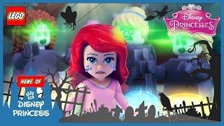 ♥ LEGO Disney Princess KINGDOM OF HORROR - Ariel & Ghost Friends (Episode 1)
