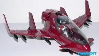 1986 Cobra Firebat & AVAC pilot G.I. Joe review