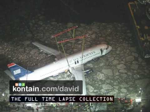 New York Plane Crash Video Hudson River