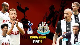 FIFA 19   สเปอร์ส VS นิวคาสเซิล   พรีเมียร์ลีก 2019/2020 !! AI ปีนี้มีแต่ทีมโหด ๆ