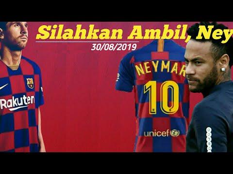 Tebak Nomor Punggung Neymar Di Barcelona 2019 | Transfer Neymar
