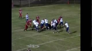 Austin Grant Roby Lions #47 FB/LB High School Highlight Film