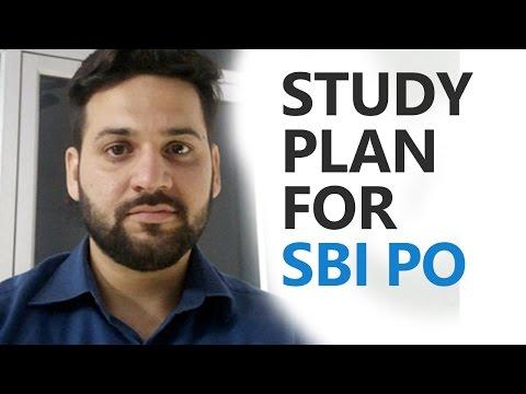 SBI PO Study Plan by Ramandeep Singh (Bank PO preparation strategy)