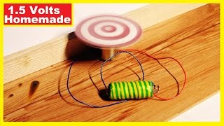 How to make a battery at home – Homemade 1.5 V