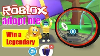 ROBLOX Adopt Me - Opening the **New** Legendary Monocycle