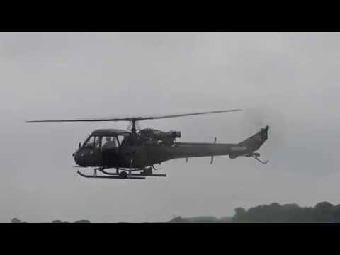 Westland Scout -  RAF Cosford Airshow 2016