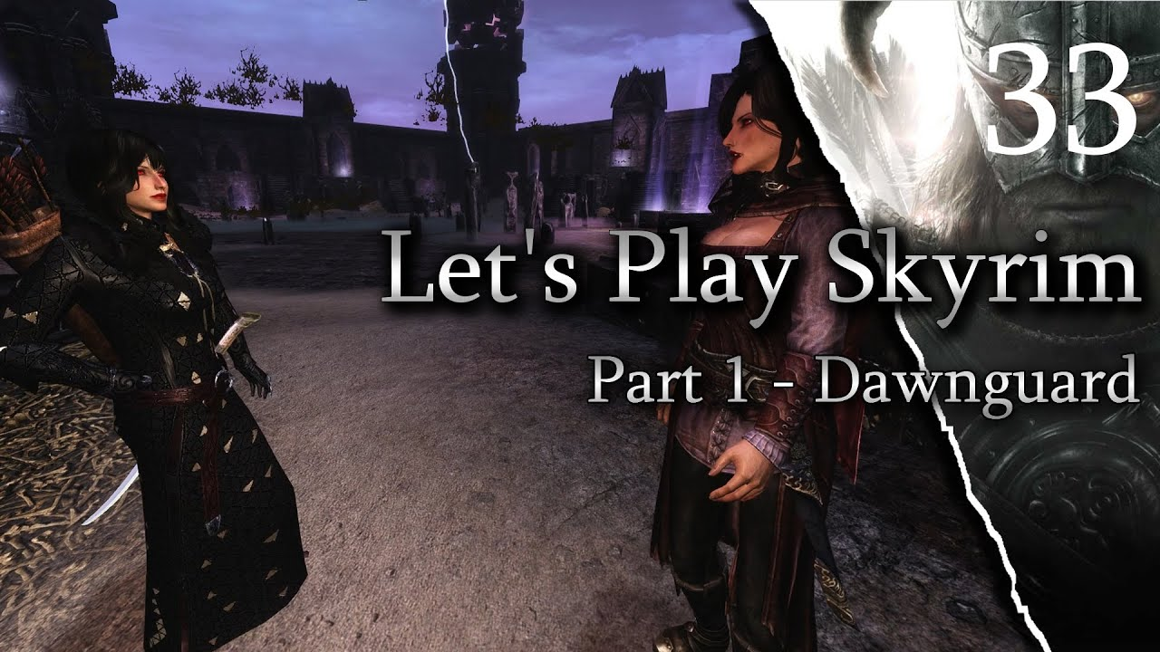 Skyrim - DAWNGUARD. Ep33 Soul Cairn - Daedric Vampire Killer In Trouble! on