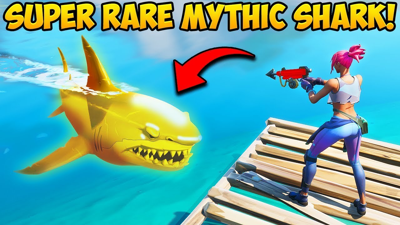 *SUPER RARE* MYTHIC SHARK (FIRST EVER!) - Fortnite Funny Fails and WTF Moments! #948