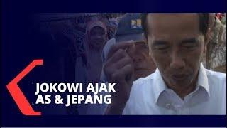 Jokowi Ajak Jepang dan AS Investasi di Natuna