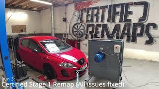 Mk2 Seat Leon Cupra Stage 1 Remap & Dyno - Certified Remaps