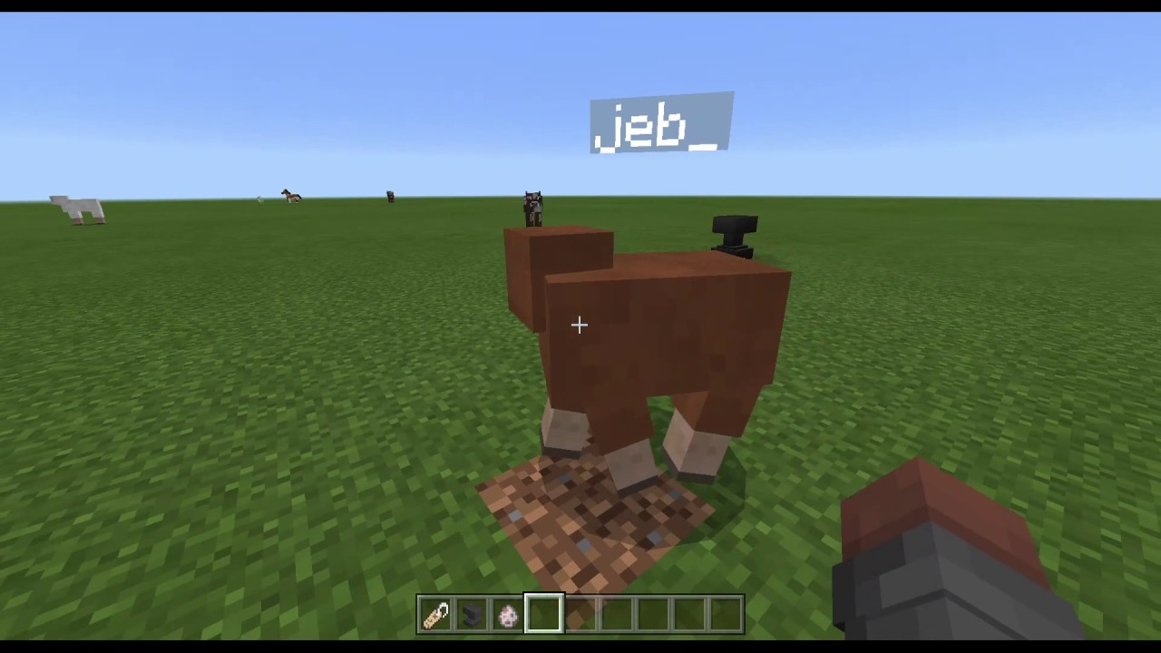 Minecraft How To Get A Jeb Sheep Youtube