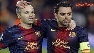Iniesta y Xavi · FC Barcelona