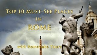 TOP 10 MUST SEE PLACES in ROME