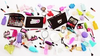 My Doll Makeup Collection / Haul And Crafts For My Dollhouse