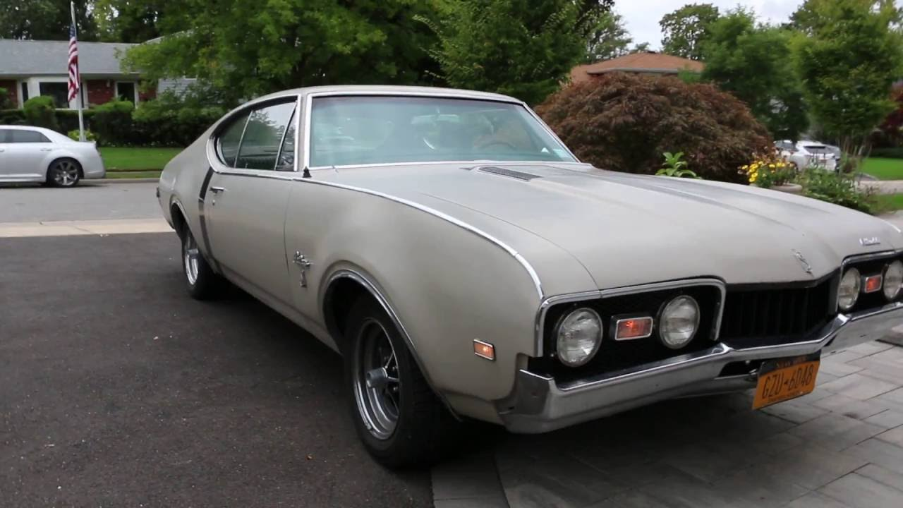 1968 Oldsmobile Cutlass S Coupe For Sale350AutoRuns And Drives AWESOME