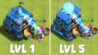 "ALL TH 12 ATTACK LEVELS!!! ""Clash Of Clans"" NEW UPDATE!!"